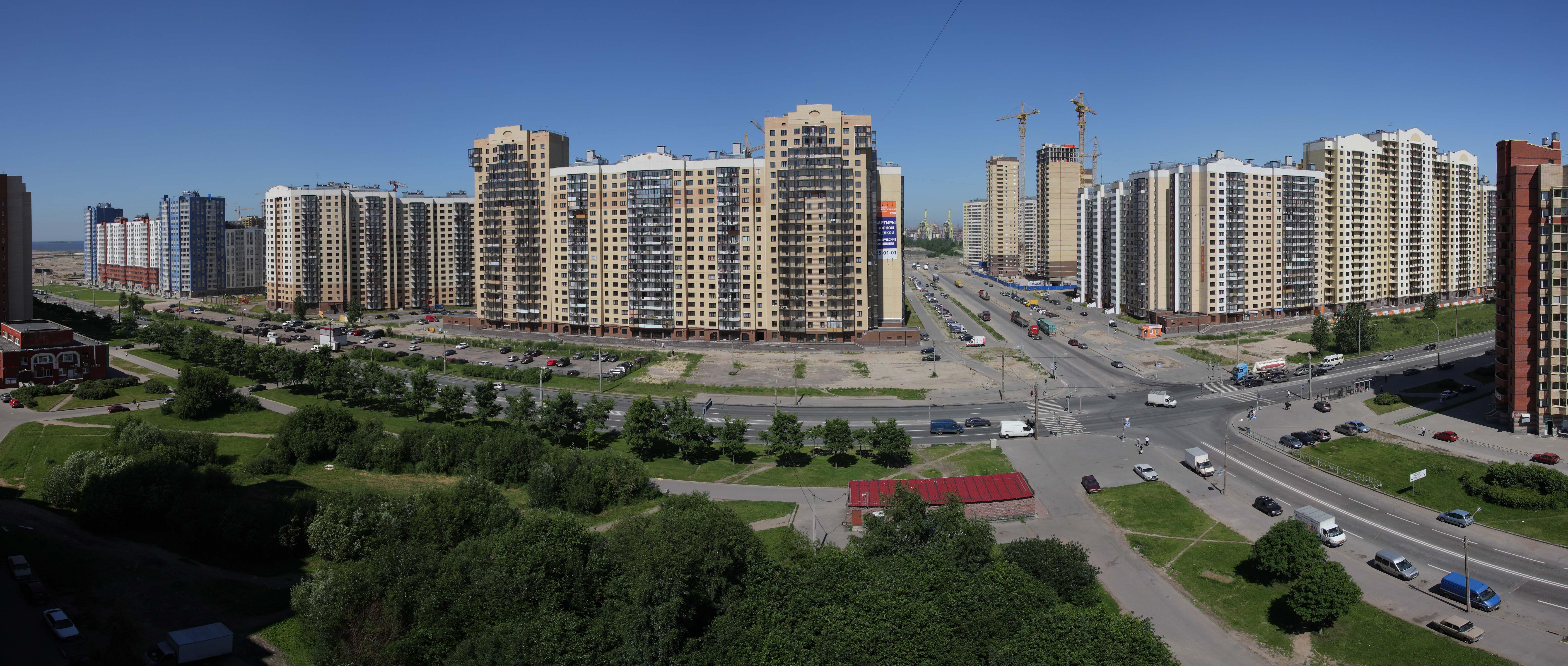 Панорама дом спб